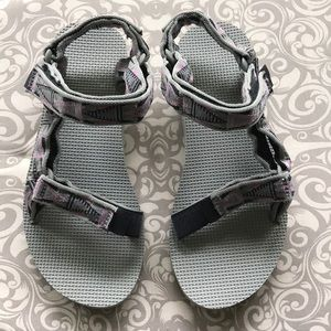 Teva's, Size 7, Worn Once
